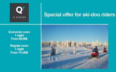 Special offer for ski-doo riders